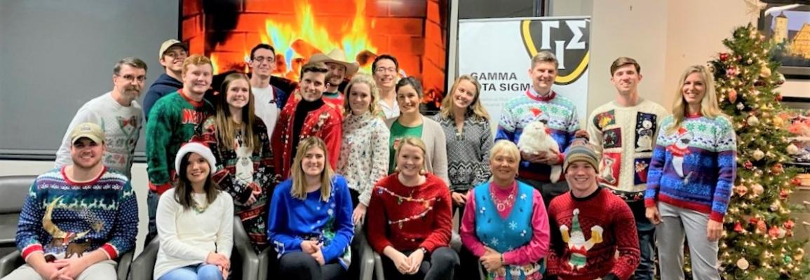 Fall 2019 GIS Tacky Sweater Group