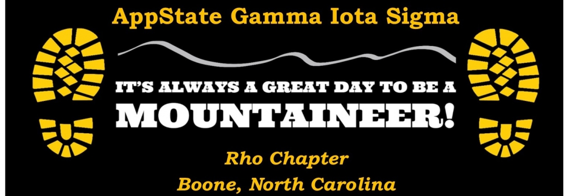 AppStateGIS Great day to be a Mountaineer