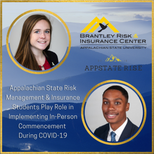 Appalachian State Risk Management & Insurance Students Play Role in Implementing In-Person Commencement During COVID-19