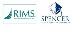RIMS logo and Spencer Education Foundation logo