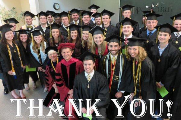 May 2014 graduates